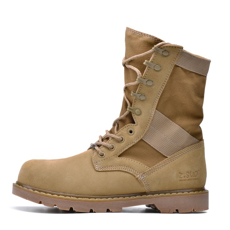 >> Click to Buy << 2017 Women boots Genuine Leather Tactical femal's working Combat Hunting Military Boots Suede Stitching Canvas Spring Couples #Affiliate