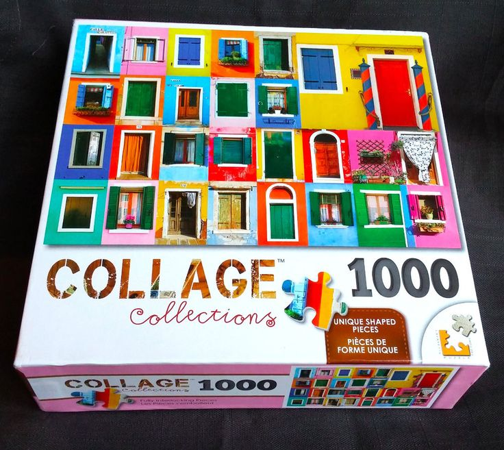 Doors Puzzle By Collage Collections 1000 Pieces