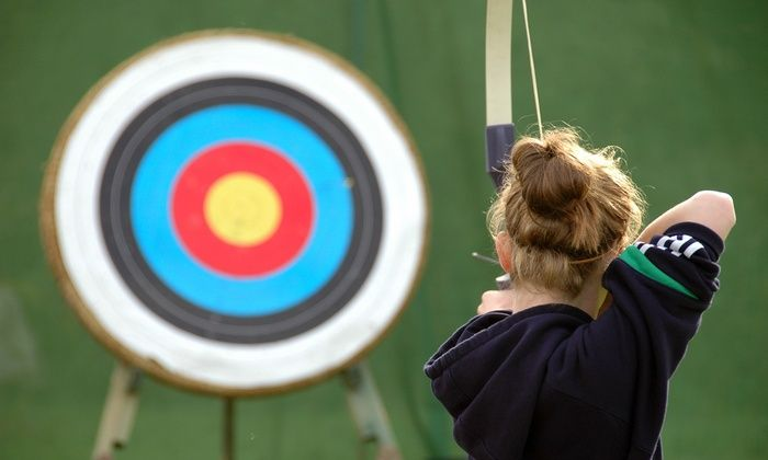 T.A.Z. Archery - Country Ridge: Archery Lessons or Punch Card at T.A.Z. Archery (Up to 63% Off). Three Options Available.