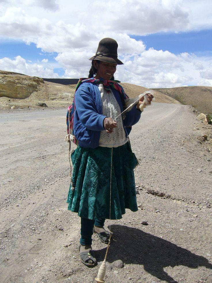 On the way to Colca Canyon, Peru