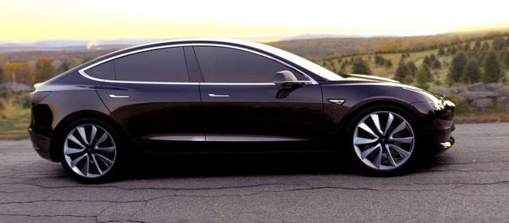 Tesla et son nouveau-né... #Tesla #Model3 #Automobile #Electrique http://p-wearcompany.com/moteurs/actu/tesla-model-3/