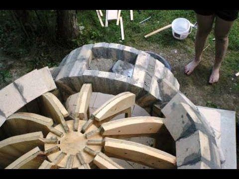 Печь для пиццы на дровах как сделать