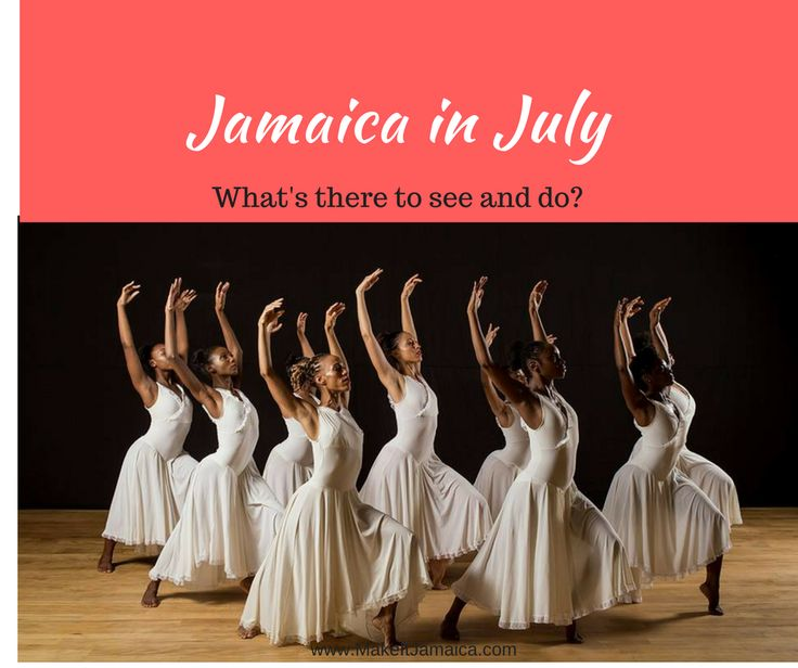 What's it like to visit Jamaica in July? What's going on? What's the weather like? Read our blog post to learn more