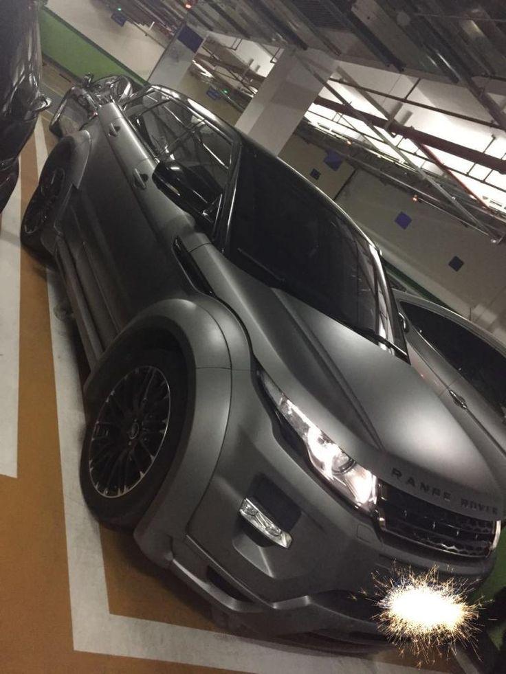 My Evoque - matte paint & body kit - Range Rover Evoque Forums - Page 1