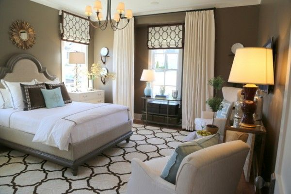 Hgtv 2014 Smart Home Master Bedroom Featuring Shaw Floors Area Rug In Style Essex Trellis
