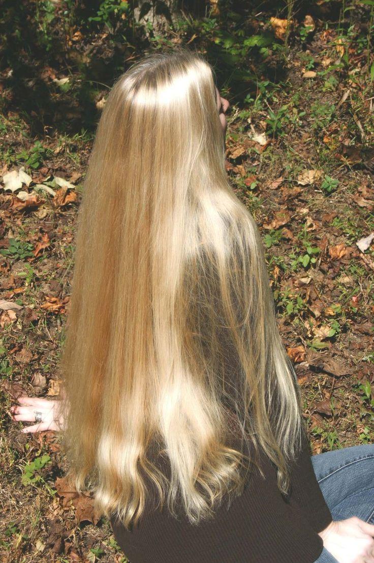 Very healthy long hair                                                                                                                                                      More