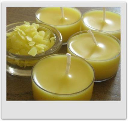 Bougies express à la cire d'abeille