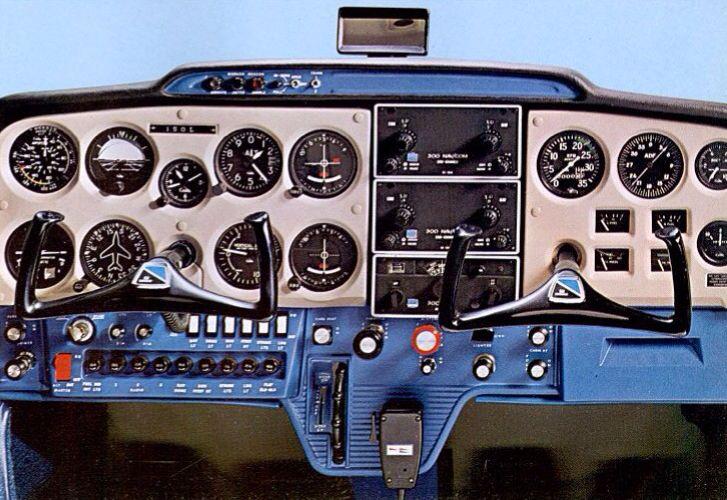1971 Cessna 150 Instrument Panel
