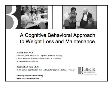 Cognitive behavioural therapy for weight loss