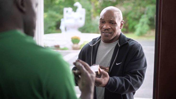 Mike Tyson Returns Evander Holyfields' Ear Back (Foot Locker Commercial) - Get It Wright Here