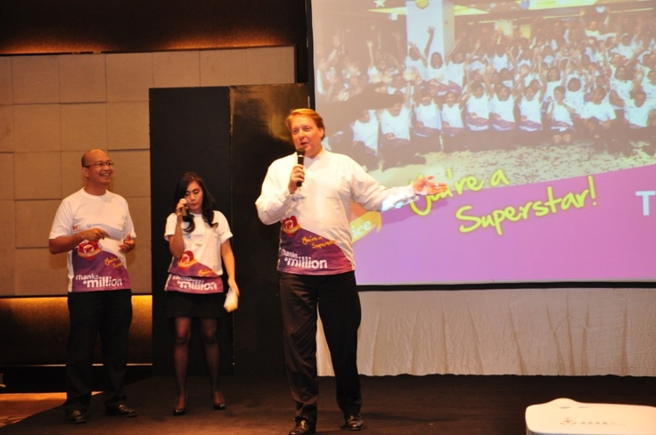 Closing speech by GM #InterContinental #Jakarta #Celebrate #Service #Week