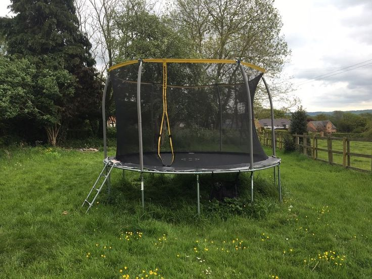 12ft Trampoline, excellent condition, less than a year old. Sportspower model