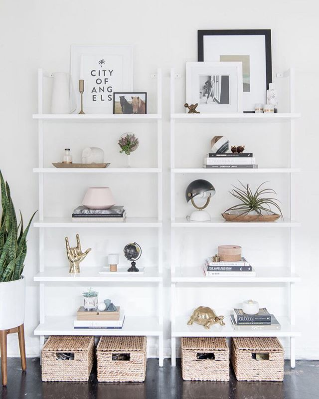Your shelfie game is strong @citysage! Looks like our brass I love you hand & stacked jewelry box are in good company! Get yours via link in profile  @carleyscamera #shopconsort #sundayfunday