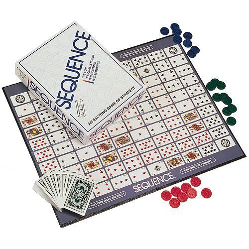 High Quality Sequence Game Easy Enough For Children, Challenging For Adults! NEW #Jax
