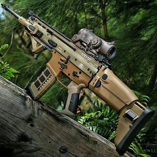 FN SCAR 16 - I like this configuration a lot.