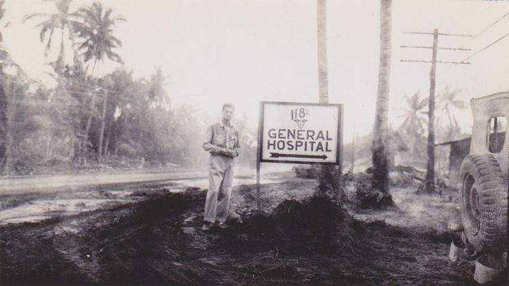 118th General Hospital (U.S. Army) at Herne Bay, New South Wales, Australia during WWII