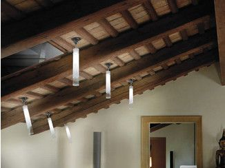 Faretto soffitto di vetro LIO FA - Vetreria Vistosi