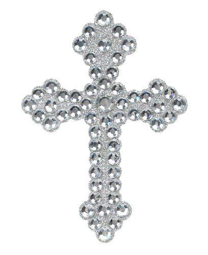 "Equine Body Bling - 4 x 2 3/4"" Rhinestone Cross by Tail Tamer. $12.95. Sparkle and shine with a little horse body bling. Sticks easily to your horse (or yourself, if you choose.) Manufacturer Part Numbers: EBB"
