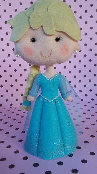 Princesa Frozen - Elsa