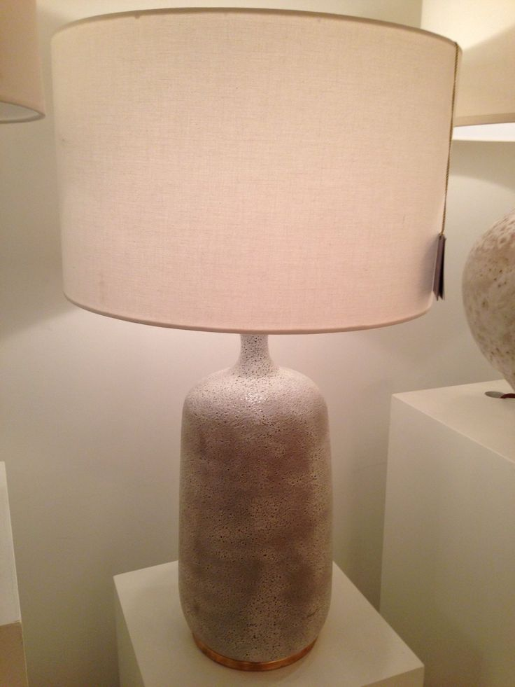 The Culloden Table Lamp In Volcanic Ivory From The AERIN Collection For  Visual Comfort Has An