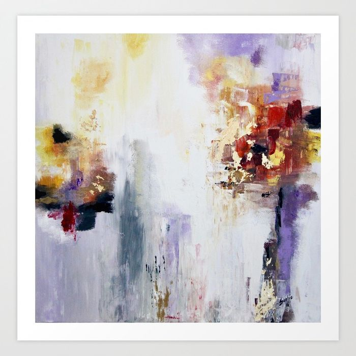 Abstract B8 Art Print by sophie_lemieux | Society6