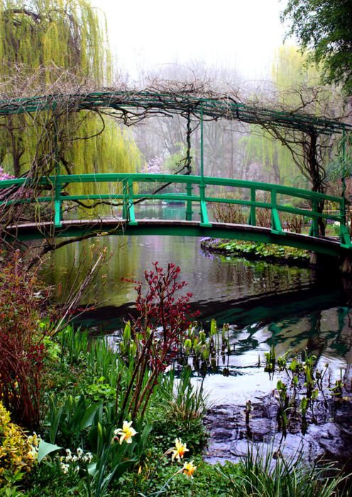 I love Monet and would love to  to see the gardens and then enjoy the beautiful French countryside while sipping wine with people I love was unforgettable. Giverny, France