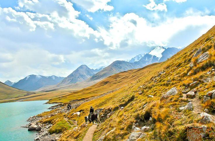 mountains Kyrgyzstan