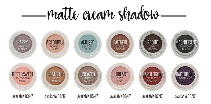 Younique matte cream shadow younique.chelseaj@gmail.com www.youniqueproducts.com/chelseajenkins