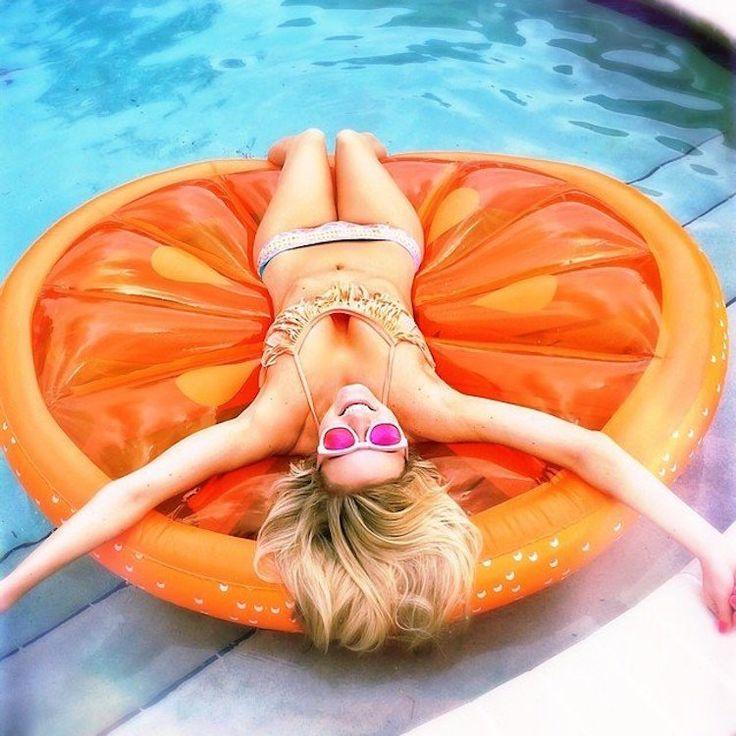 Zwembad speelgoed luchtbed fruit