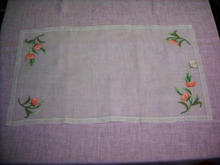 Vintage Italian Organza Table Runner And Napkins By LeapofFaithCraftVin On  Etsy