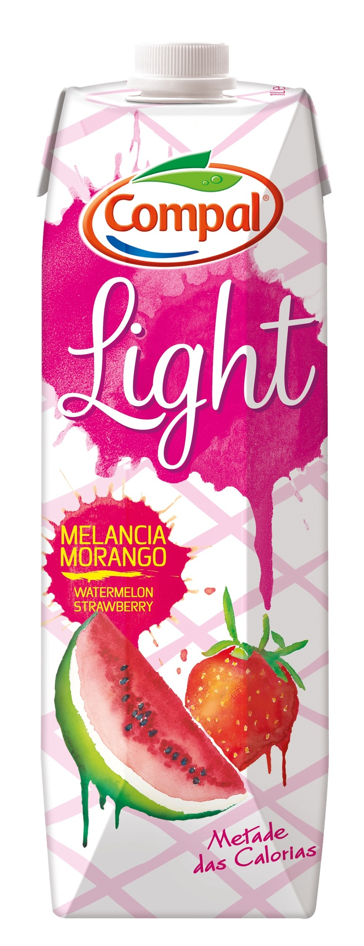 Compal Light Melancia Morango