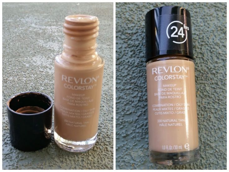 Revlon Colorstay Liquid Foundation (New formula) in natural tan ...