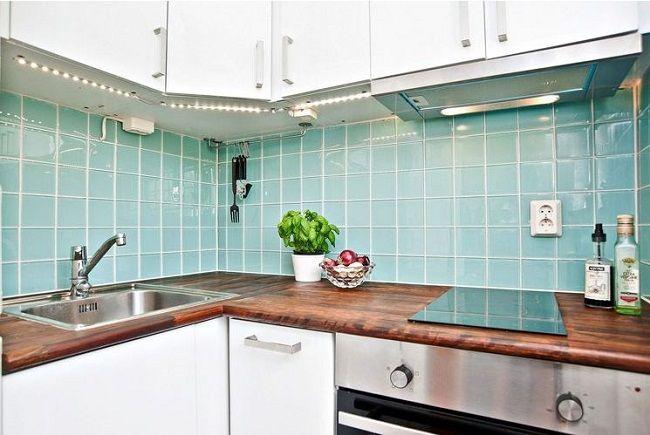 Однушка в 26 м² с крошечной кухней – Красивые квартиры