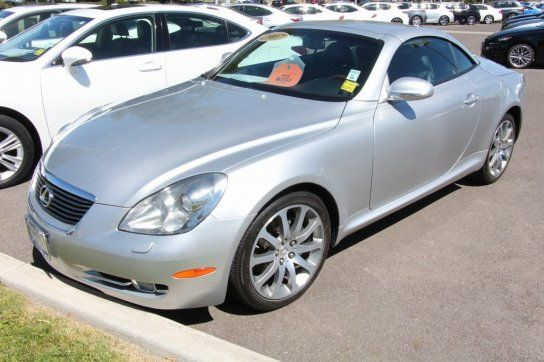 Convertible, 2007 Lexus SC 430 Convertible with 2 Door in Fremont, CA (94538)