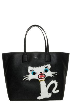 MONSTER CHOUPETTE - Torba na zakupy - black