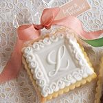 Monogram cookie mold from House on the Hill