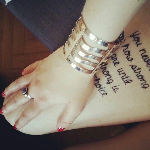 Min tatuering på låret, ellinorengman