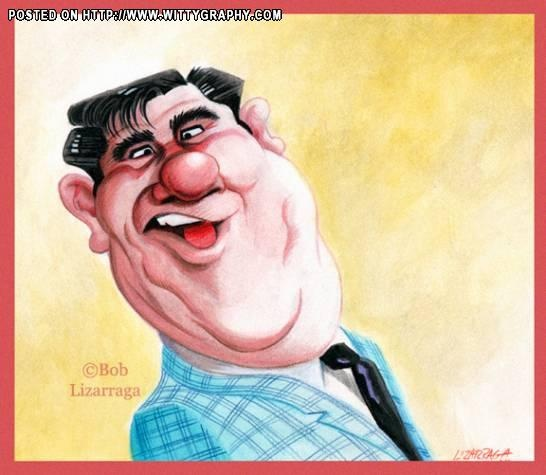 Buddy Hackett  (by Bob Lizarraga)