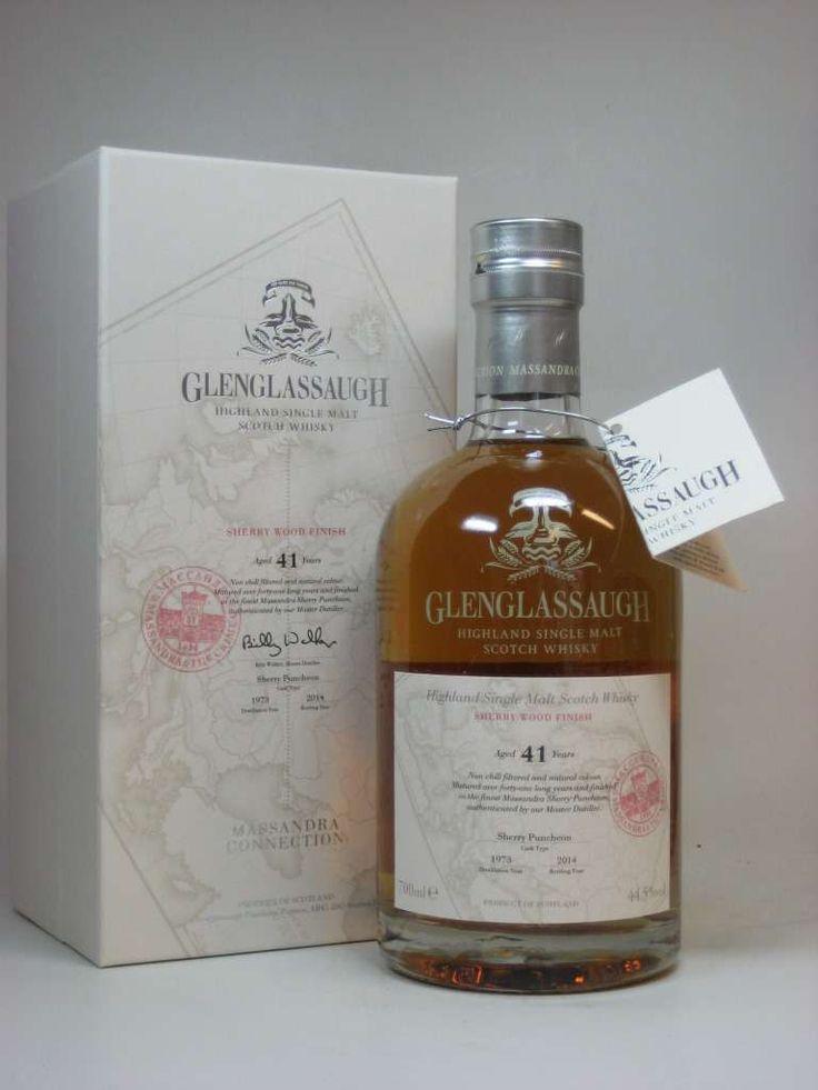 Glenglassaugh Massandra Connection 41 Jahre 1973/2014 Sherry Wood Finish 44,5%vol. 0,7l
