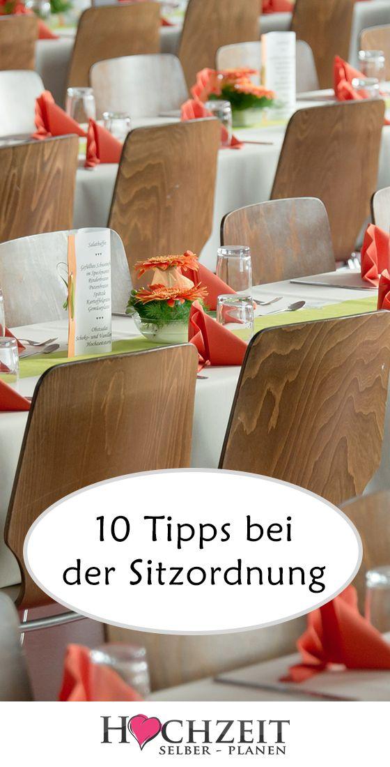 10 Tipps bei der Sitzordnung: Hat man schon über …