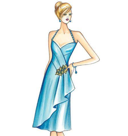 F3710, Marfy Dress