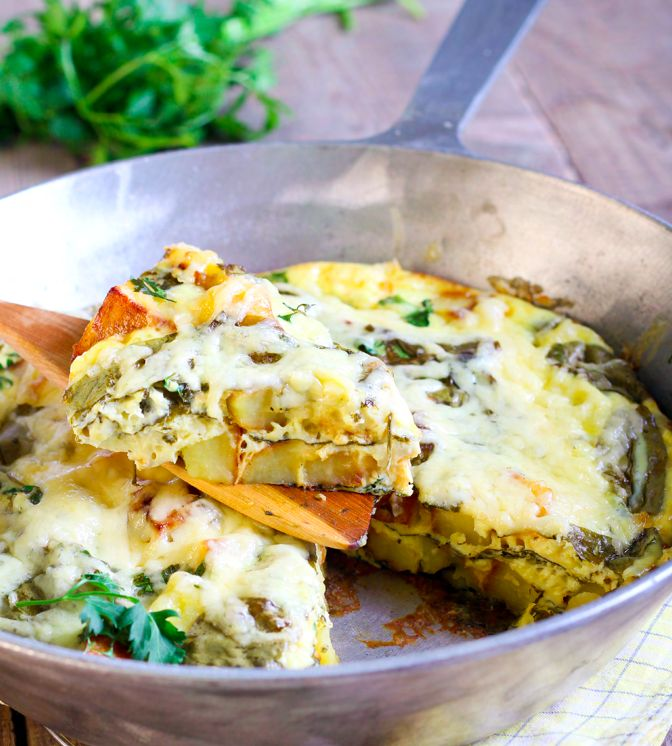 Meatless Monday – Vegetarian Frittata | Jessica Sepel