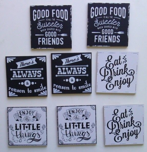 cute sayings coasters set of 8 betteru fun finds cool