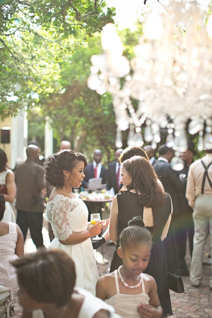Cocktail Hour; Unathi and Mtunzi's 1920′s Inspired Wedding; The Plantation, Port Elizabeth, South Africa