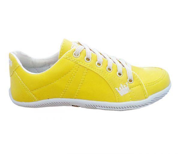 Sapatênis Feminino Osklen Amarelo MOD:11527