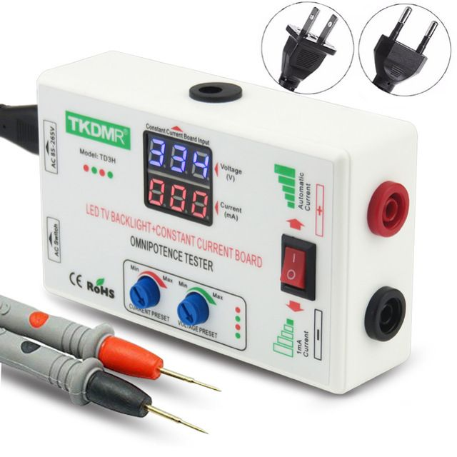Tkdmr 0 330v Smart Fit Manual Adjustment Voltage Tv Led Backlight Tester Current Adjustable Constant Current Board Led Lamp Bead Review Constant Current Led Tester
