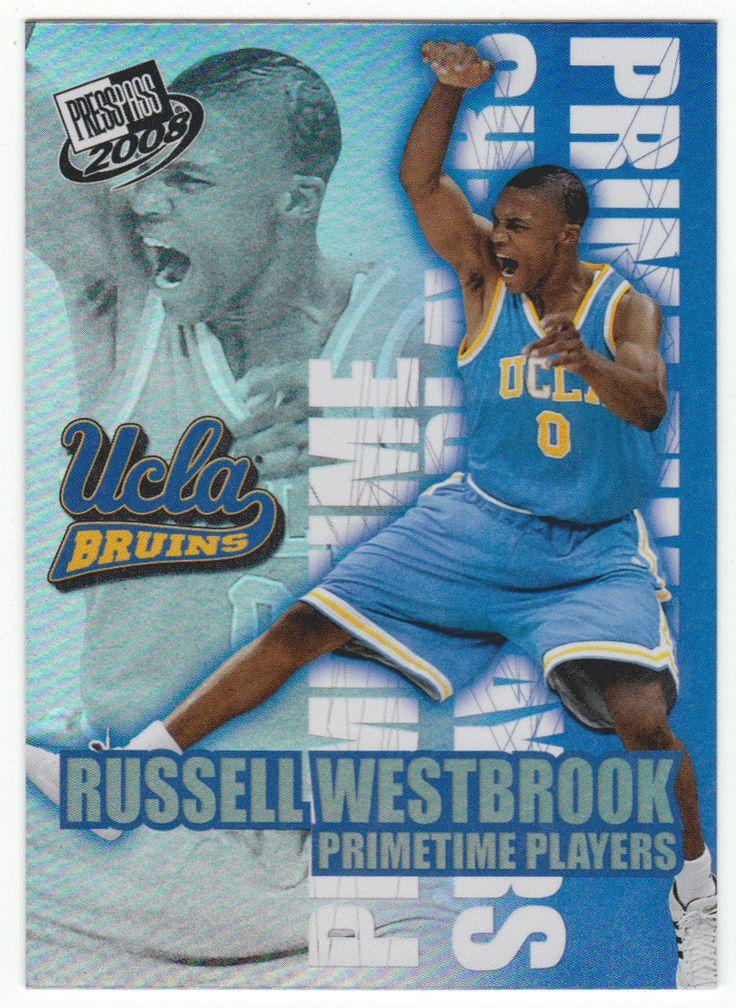 Russell Westbrook # PT-5 - 2008 Press Pass Basketball Primetime Players