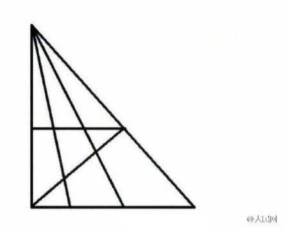 ¿Cuántos triángulos puedes ver aquí? La pregunta que divide a Twitter