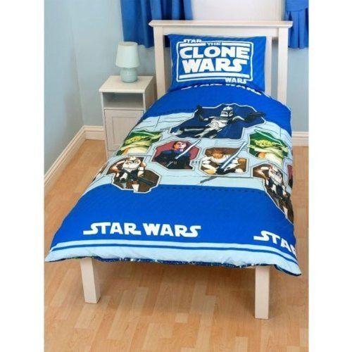 Star Wars Clone Wars Twin Bedding Set