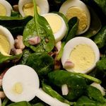 So-Easy Spinach and Bacon Salad